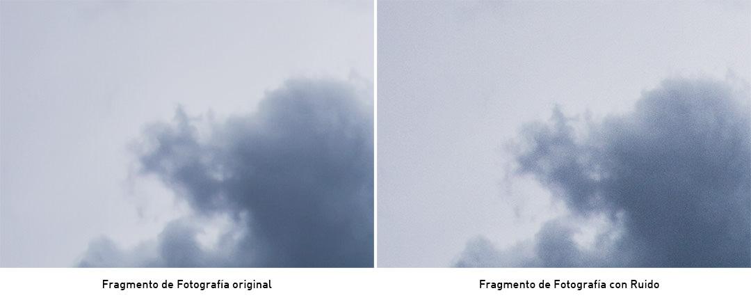 Accion de photoshop con efecto ruido en la imagen